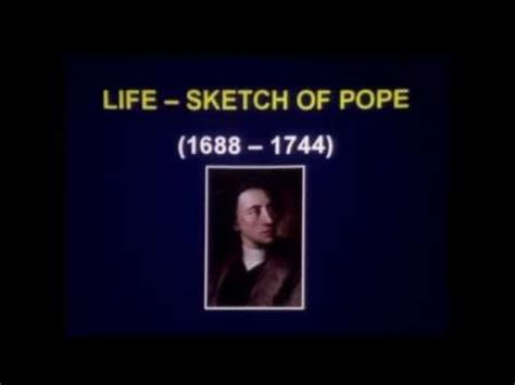 Lecture: Alexander Pope - YouTube